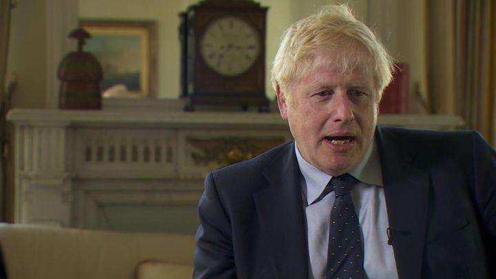 Boris Johnson insists UK will leave EU on 31 October