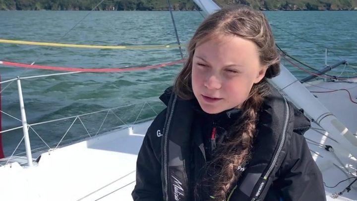 Greta Thunberg's zero carbon journey: 'I might feel a bit seasick'