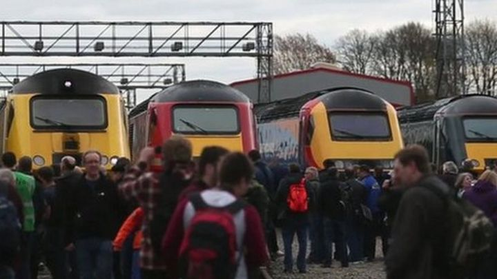 The High Speed Train, or Intercity 125, is celebrating its 40th year of operation.