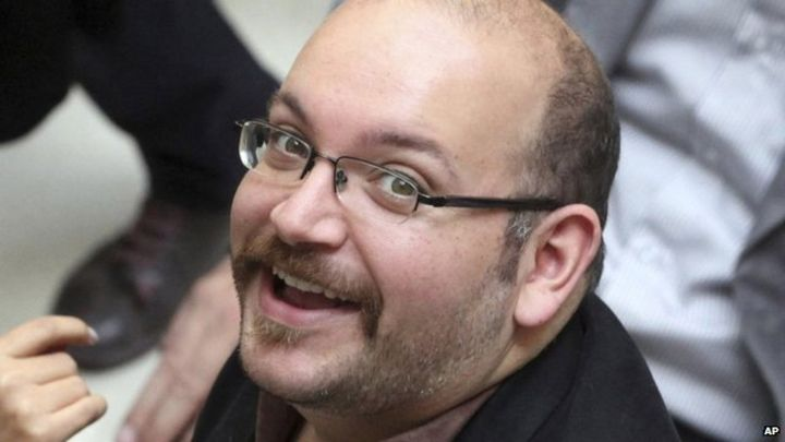 Jason Rezaian and three other US prisoners leave Iran