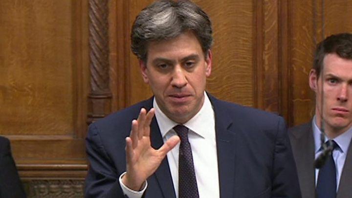 Climate change: Miliband says UK should declare emergency