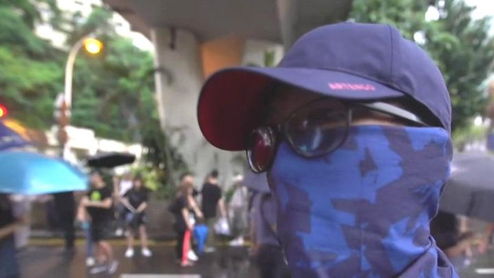 Hong Kong demonstrators on why they're still protesting