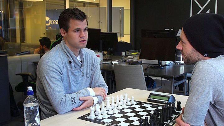 Challenging world chess champion Magnus Carlsen