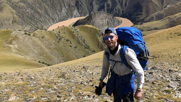 Ash Dykes finishes river Yangtze solo walking challenge