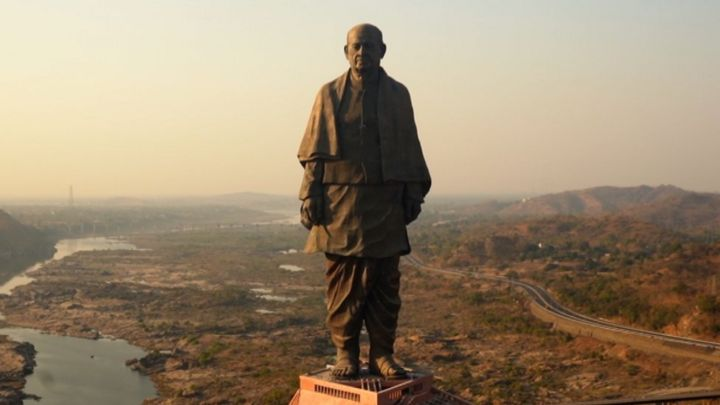 Did the world's tallest statue bring development to India?