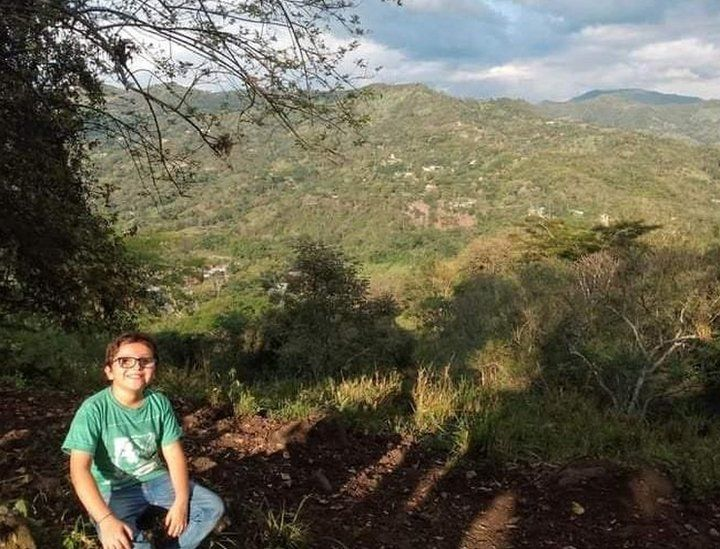 Francisco is growing up close to the Andes mountains which he says inspires his activism