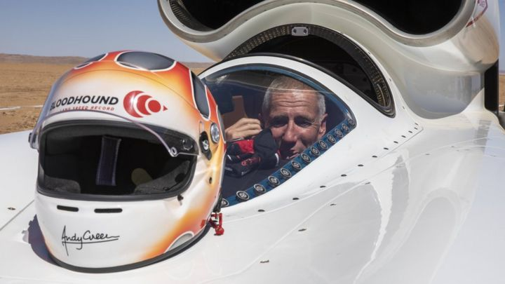 Bloodhound diary: Getting the job done at over 600mph