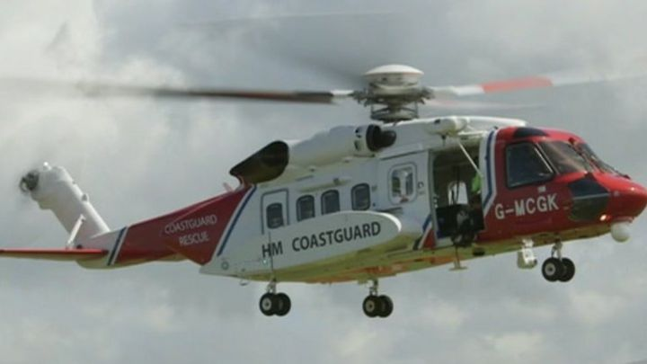 Two airlifted from yacht in Bristol Channel