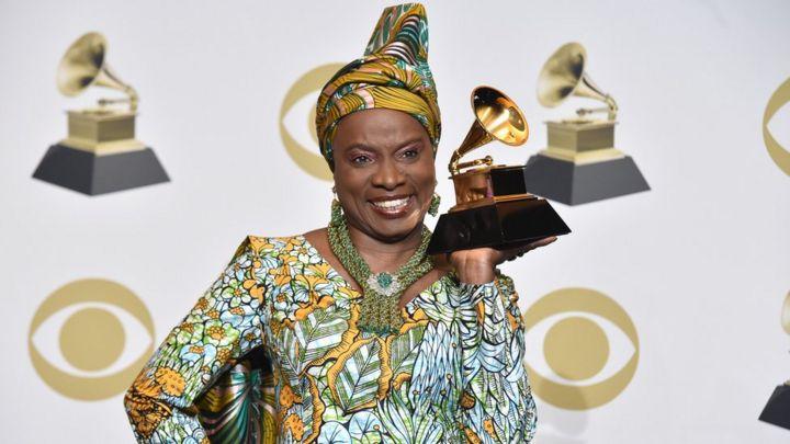 La chanteuse béninoise Angélique Kidjo récompensée d'un 5ème Grammy