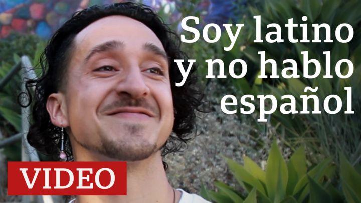 """""""Soy latino, no hablo español y siento vergüenza por eso"""""""