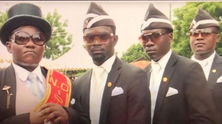 Coronavirus How Dancing Ghana Pallbearers Turn Covid 19 Sensation
