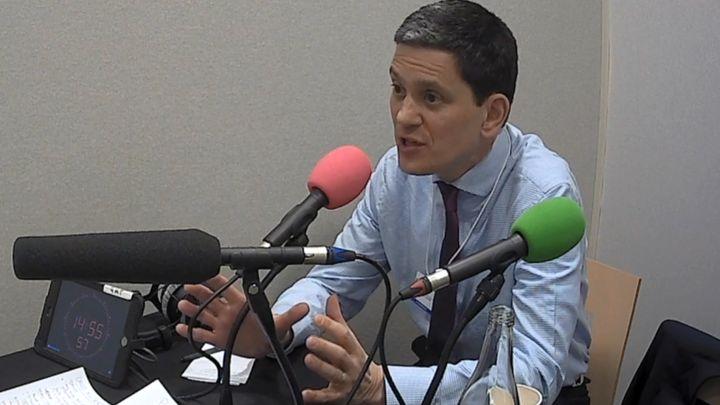 Brexit: David Miliband puts case for new referendum