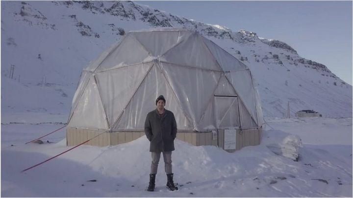 A fazenda no gelo que produz legumes e verduras a -30ºC no Ártico