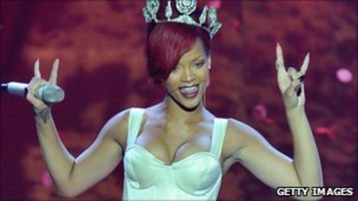 Rihanna Makes History In Uk Chart Bbc News