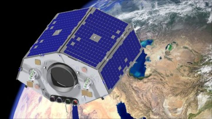 Nigeria launches two satellites - BBC News