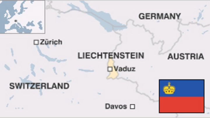 Liechtenstein Country Profile BBC News - Liechtenstein map
