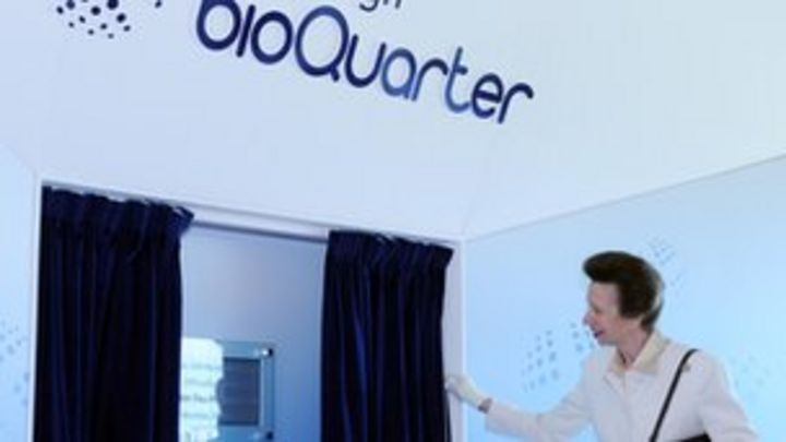 Princess Royal opens Scottish Centre for Regenerative