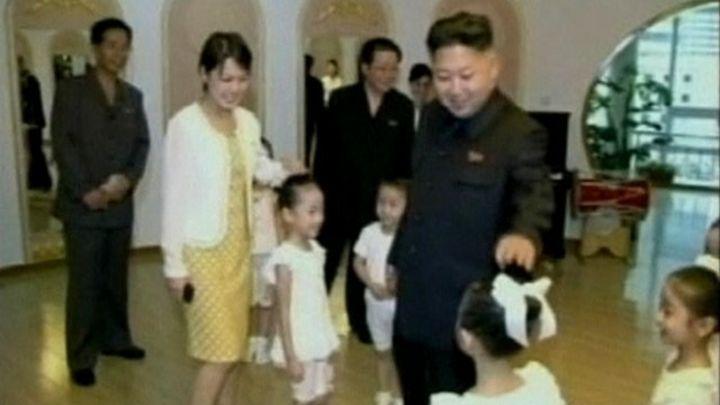 north korea leader kim jong un married to ri sol ju bbc news