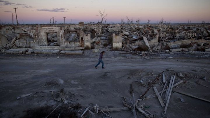 In pictures: Epecuen resurfaces