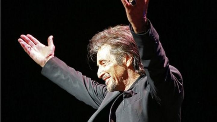 Al Pacino Gives Fans A Night Of Conversation Bbc News