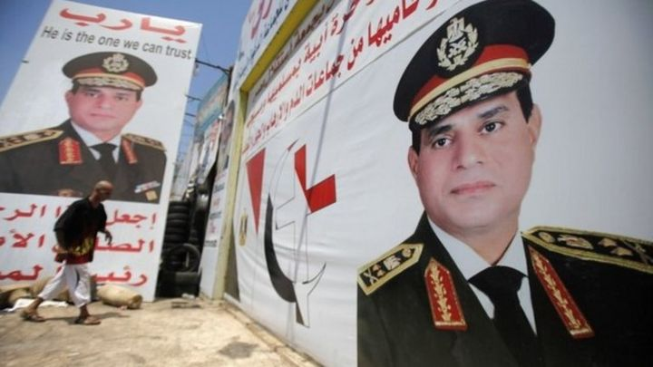 Egypt army chief al-Sisi: Room for all in Egypt