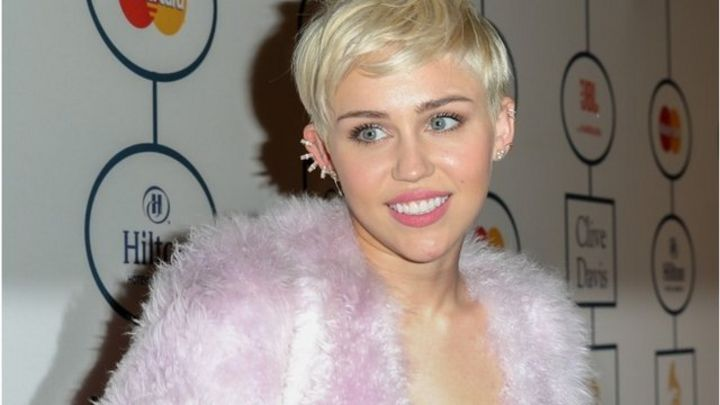 Miley Takes On Dolly Parton Classic Bbc News