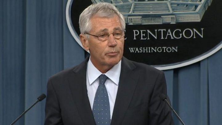 Pentagon's Chuck Hagel plans to downsize US military