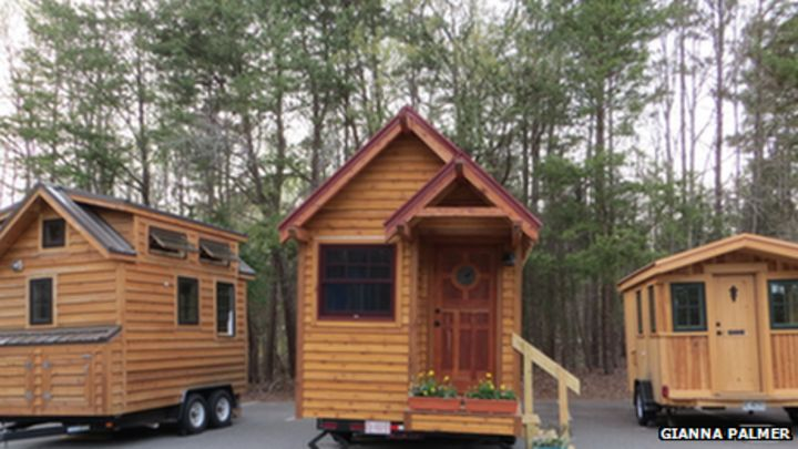 Americans construct tiny houses and new lives BBC News