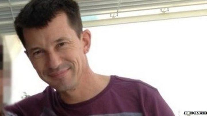 John Cantlie: Islamic State hostage in Kobane video