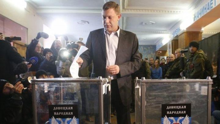 Ukraine crisis: Separatists hold controversial polls