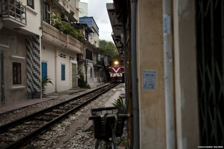 In pictures: Living beside the tracks