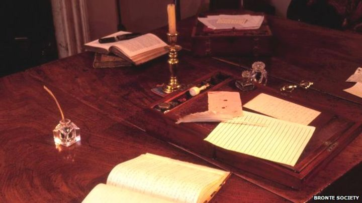 Bronte table brought back to Haworth Parsonage - BBC News