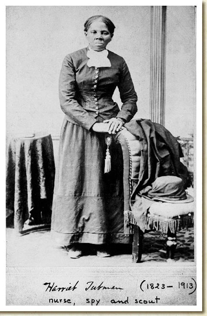 Anti-slavery crusader Harriet Tubman is seen in a picture from the Library of Congress taken photographer H.B. Lindsley between 1860 and 1870.