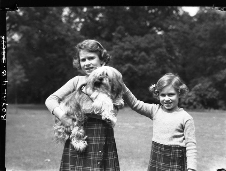 Princess Elizabeth and Margaret