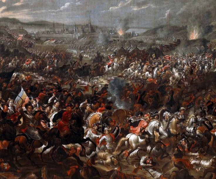 لوحة من القرن السابع عشر تصور معركة فيينا