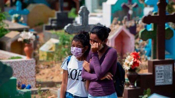 Cementerio en Managua, Nicaragua