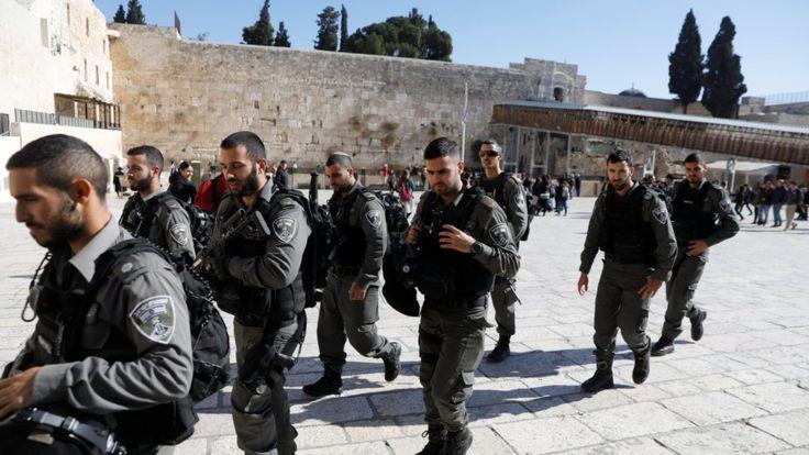 صدها نیروی اسرائیلی در بیتالمقدس و سایر مناطق مستقر شدهاند
