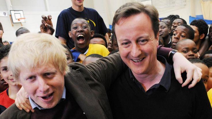 Джонсон и Кэмерон девять лет назад