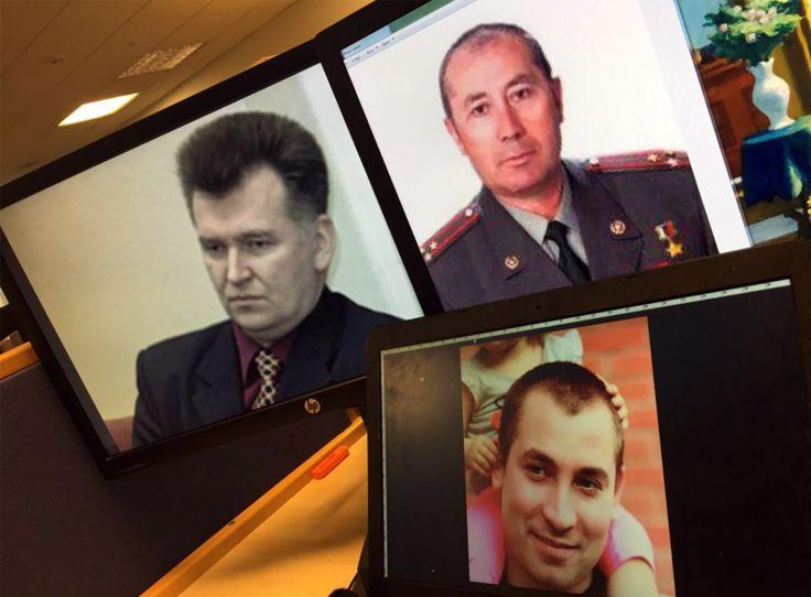 Офицеры ФСБ