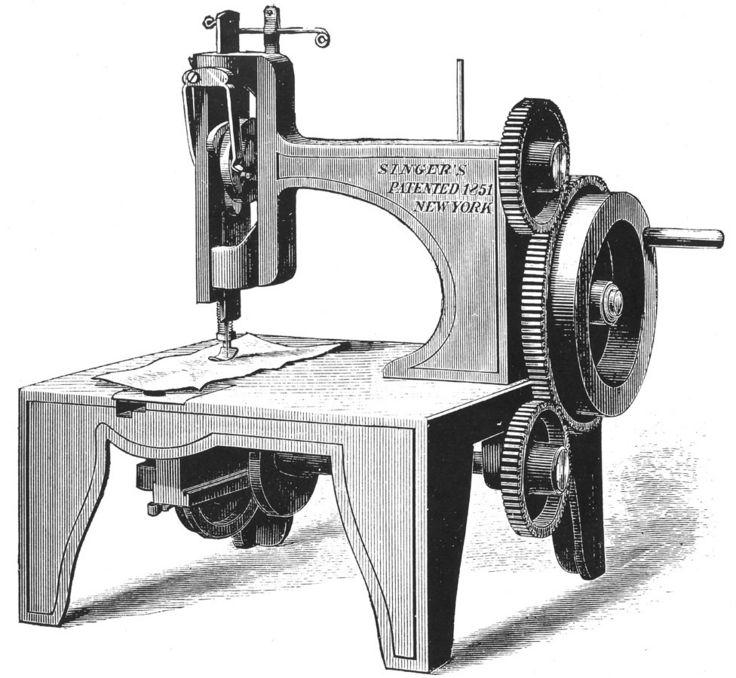 рисунок первой машинки