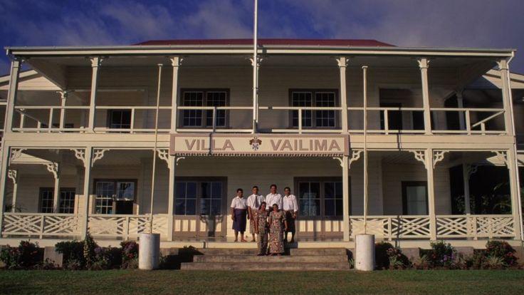 Вилла Ваилима, наши дни.