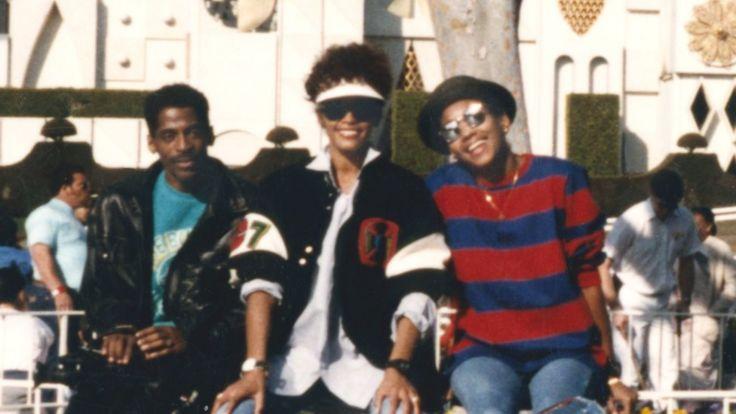 В Диснейленде с музыкальным директором Джоном Симмонсом в 1989 году