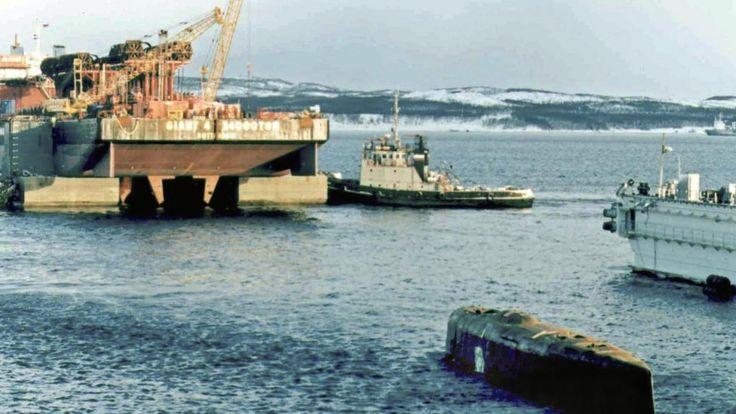 """Подводную лодку """"Курск"""" смогли поднять только в 2001 году"""
