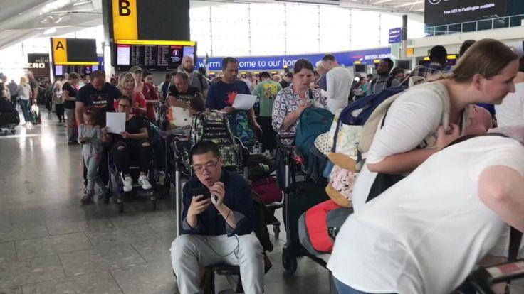 Queues at Heathrow Terminal 5