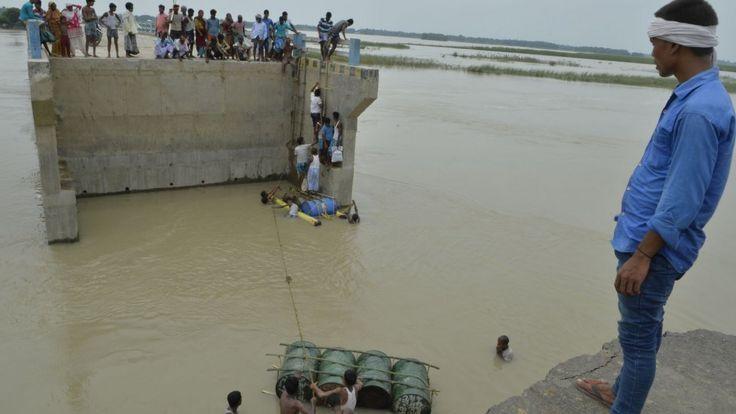Inundaciones en Bihar, India