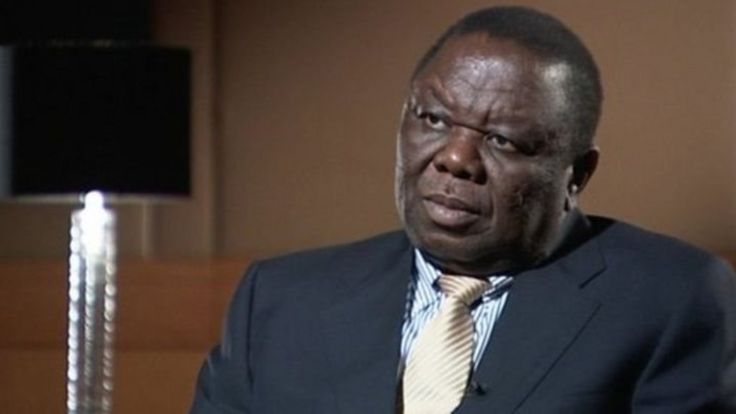 Kiongozi wa upinzani Morgan Tsvangirai