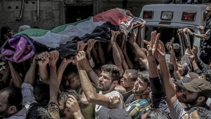 تشییع جنازه رزان نجار