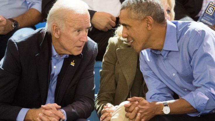 Joe Biden y Barack Obama.