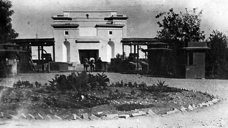تاسیس نخستین نئاتر تابستانه در شهر دوشنبه در سال 1937 که آن را
