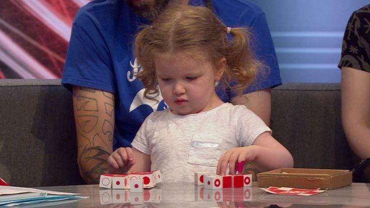 La niña de tres años con IQ superior a Einstein